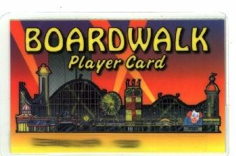 Boardwalk Player card. Image of property