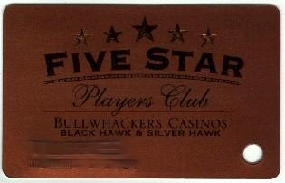 Gold background. Five Star Players Club. Bronze stars.
